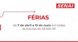 SUSPENSÃO DAS AULAS NO SENAI-SP